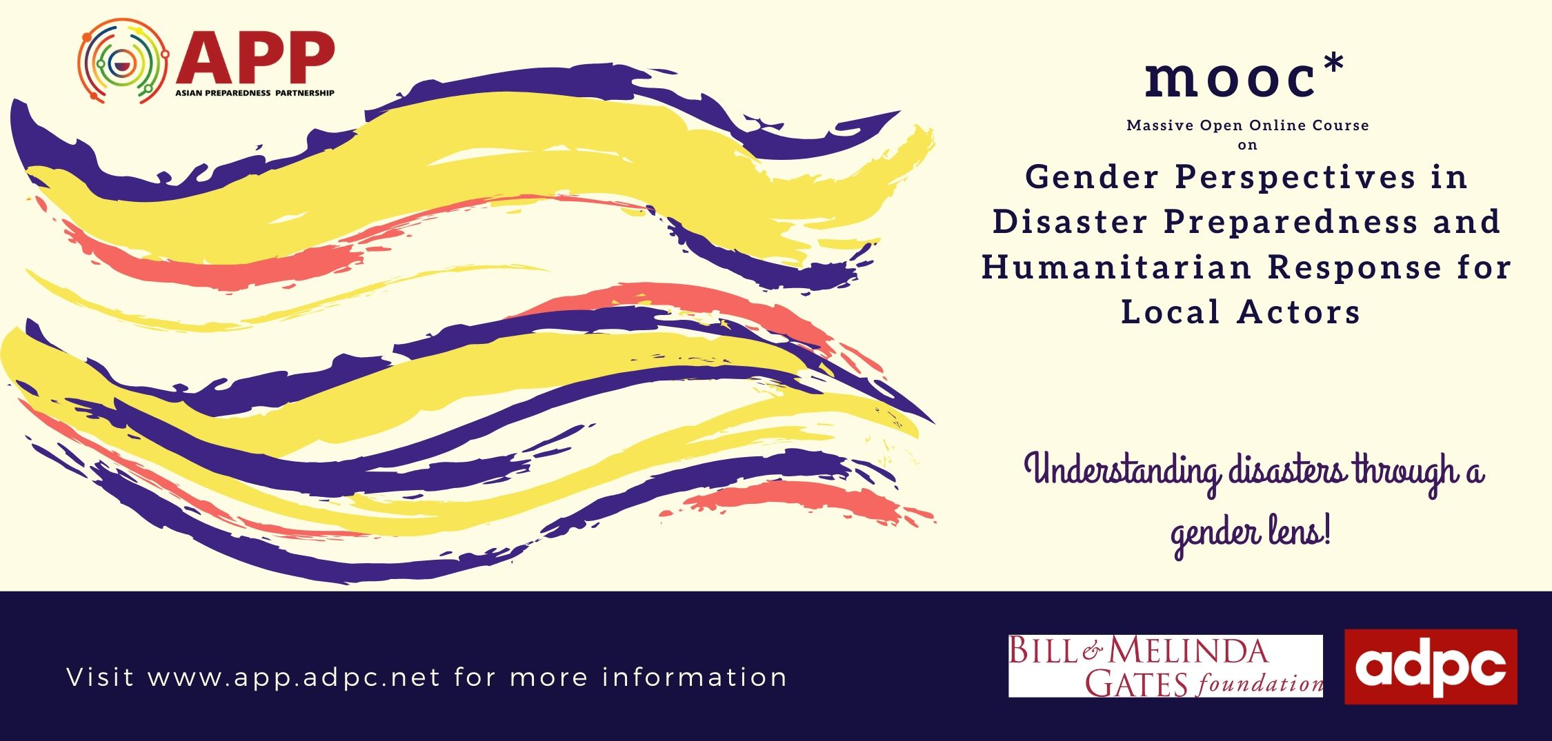 Gender Perspectives in Disaster Preparedness and Humanitarian Response for Local Actors APP-01